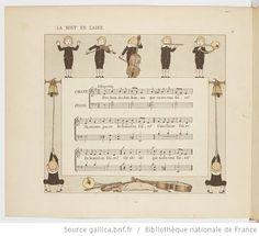 Vieilles chansons et rondes pour les petits enfants, notées avec des accompagnements faciles / par Ch. M. Widor ; Illustrations de M. Boutet de Monvel - 18