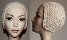 The Vintage Pattern Files: 1920's Knitting - Amelia Earhart Aviator Cap