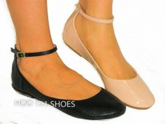 LOVE IT! Cute Mary Jane Ankle Strap Ballet Flats *Supportive & Comfy*