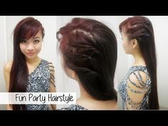 Edgy Party Hairstyle - YouTube