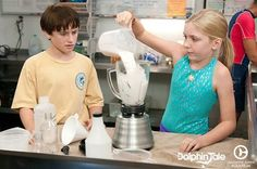 Nathan Gamble and Cozi Zuehlsdorff in DT.