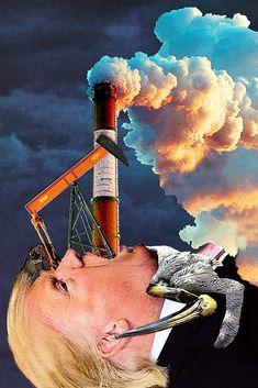 """The Polluter"" by Eugenia Loli Portfolio | Store | Instagram"