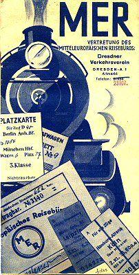 Reichsbahn-Werbung