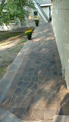 paver repair and restoration added paver design and accents to