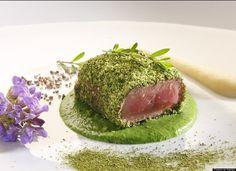 pistachio crusted tuna