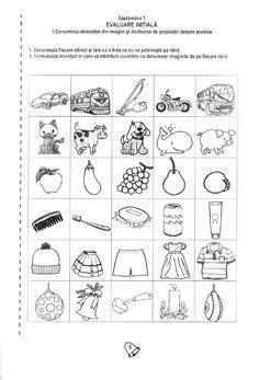 Fise de lucru Preschool Learning Activities, Kids Education, Worksheets, Words, Pdf, Reading, Countertops