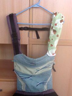 Manduca strap cover, sewing, babywearing