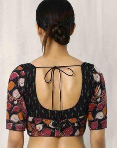 Beautiful open back Choli Blouse for Saree, Sari and Lehenga, Ghagra. Indian Fashion via @topupyourtrip