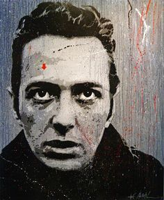 Joe Strummer by Jef Aerosol.
