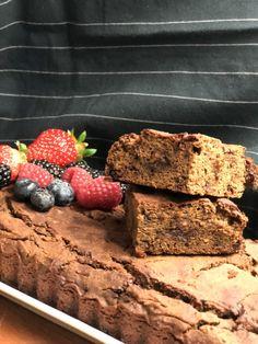 Vegan Vegetarian, Vegetarian Recipes, Yummy Cakes, Brownies, Diet, Healthy, Desserts, Food, Breads