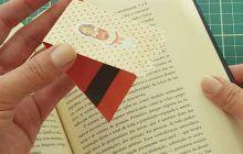 Marcador de Livro Magnético