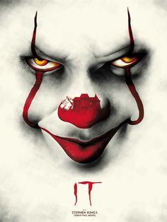 I'm Pennywise,the dancing Clown ! Penny Wise Clown, Le Joker Batman, Joker Art, Scary Wallpaper, Halloween Wallpaper, Hd Wallpaper, Scary Movies, Horror Movies, Film Mythique