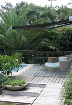 Right here we take a look at 27 ingenious swimming pool fence pointers for household houses, sharing some inventive, enjoyable, and also surprising layouts. Swimming Pool Landscaping, Pool Fence, Backyard Fences, Garden Pool, Backyard Landscaping, Outdoor Pool, Outdoor Gardens, Bali Stil, Decks