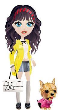 Preppy look inspired by Blair Waldorf School Girl