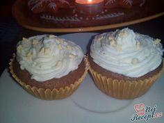 Muffinky s tvarohovým krémem Cupcakes, Sweet, Candy, Cupcake Cakes, Cup Cakes, Muffin, Cupcake