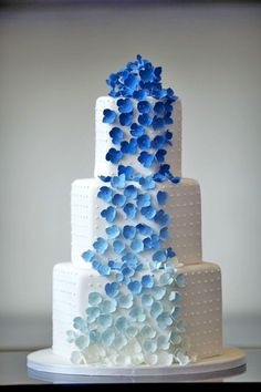 ombre wedding cakes 3