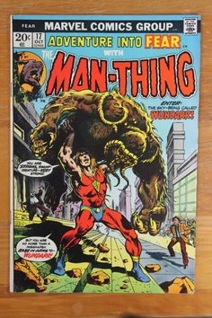 """- Marvel Comics Group Presents - """"It Came Out of the Sky"""" - First Appearance of: Wundarr - Bronze Age: October 1973 - Cover Artists: Frank Brunner / Glynis Wein - Artist: Val Mayerik - Inker: Sal Trap"""