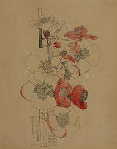 Charles Rennie Mackintosh, Japonica, 1910