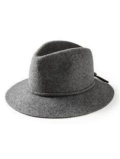 Felt panama hat   Banana Republic ~i need more wide brimmed hats