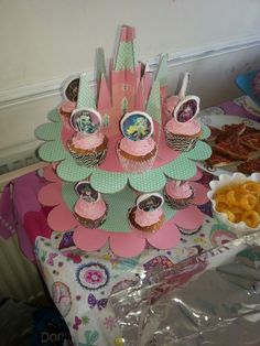 monster high cupcakes made by my sister Chloe for my daughter's birthday :)