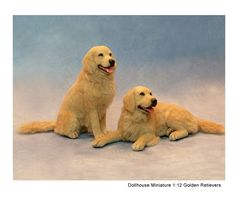 Kerri Pajutee realistic miniature animal sculptures for the dollhouse enthusiast or impassioned collector. Needle Felted Animals, Felt Animals, Animals And Pets, Cute Animals, Needle Felting, Wool Felting, Teddy Bear Toys, Miniature Dogs, Mini Dogs