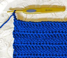 No Gaps Along the Sides of Double Crochet Rows