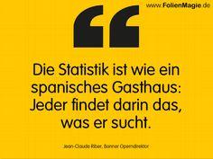 Was denken Sie über STATISTIK? www.FolienMagie.de