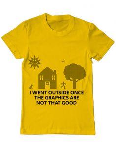 Tricou Tricou Reality graphics Go Outside, T Shirt, Tops, Design, Women, Fashion, Supreme T Shirt, Moda, Tee Shirt