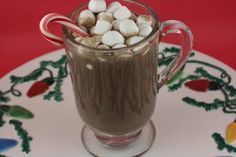 A Year of Slow Cooking: CrockPot Peppermint Hot Chocolate/ Peppermint Mocha Recipe