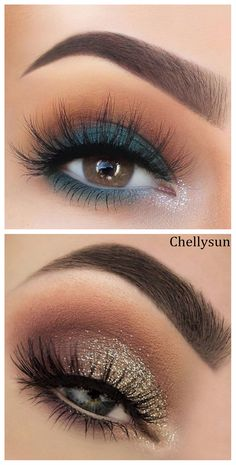 Easy Natural eye makeup tutorial step by step everyday colorful pink peach hooded eye makup for glasses for beginners #eyes #eyeshadow #eyemakeup #eyeliner #beauty #fashion #womensfashion #makeup