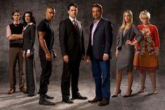Criminal Minds I especially love Dr.Reid and Garcia