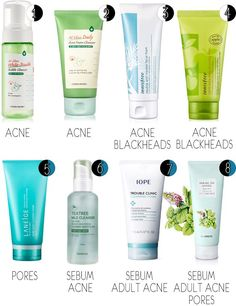 Best Korean skincare prods for combo/sensitive/problematic skin