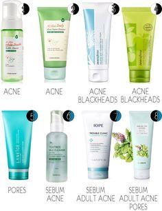 Best Korean skincare prods for combo/sensitive/problematic skin