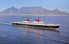 The incomparable SS United States in Cape Town - 1969