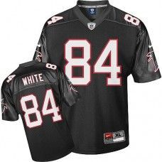 00ccd5a02 Nike Falcons  84 Roddy White Black Stitched NFL Jersey Atlanta Falcons