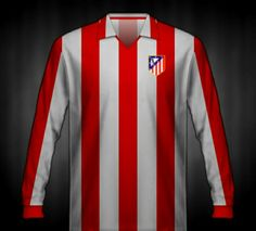 Atletico Madrid shirt for the 1974 European Cup Final.