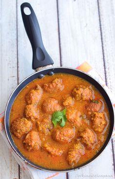 Cookingwithsapana: Lauki ke Kofte | Ghiya Kofte | Bottle Gourd Dumplings in Tomato Gravy