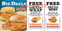 Popeyes Chicken Coupons Ends of Coupon Promo Codes JUNE 2020 ! Is chain the Miami, founded Popeyes headquarters was it In the is their. Kfc Coupons, Shopping Coupons, Grocery Coupons, Online Coupons, Free Printable Coupons, Free Coupons, Free Printables, Golden Corral Coupons, Worlds Best Chicken