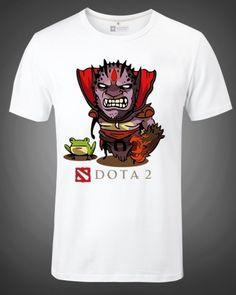 Demon Witch t shirt dota 2 hero XXXL t shirts short sleeve