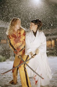 """Kill Bill: Volume one"" (2003) - Uma Thurman and Lucy Liu"