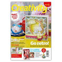 DOCRAFTS CREATIVITY MAGAZINE ISSUE 34 JULY/AUG 2012