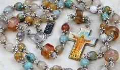 Good Shepherd Christ the Redeemer   Lent Easter Confirmation  Agate Rosary