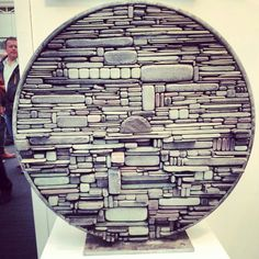 Awesome #stone #art seen at the London Art Fair this weekend