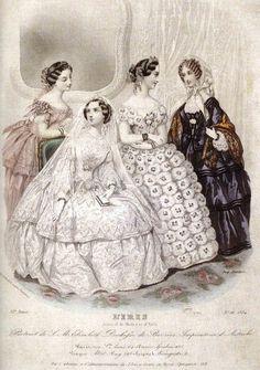 Empress Sissi's wedding gown