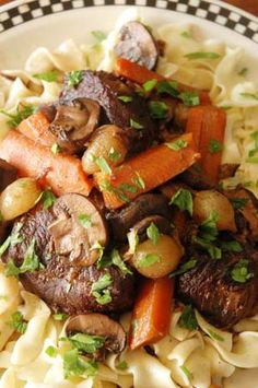Beef Bourguignon French Burgundy Stew