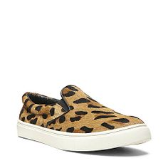 ECENTRIC LEOPARD women's athletic fashion slip on - Steve Madden