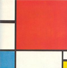 Composition with Red,  Blue and Yellow  - Piet Mondrian.  Professional Artist is the foremost business magazine for visual artists. Visit ProfessionalArtistMag.com.