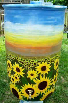 Paint Your Rain Barrel
