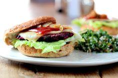 Millet Black Bean Burger Purely Winter Magazine I  #purelyelizabeth #millet #blackbean