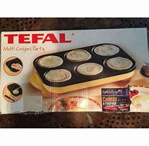 crepe party tefal tefal muffin pan